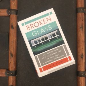Broken Glass by Alex Beam like new